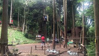フォレストアドベンチャー・箱根本格的なアスレチックがある森林公園