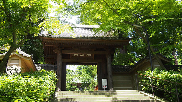 円覚寺 総門(鎌倉)