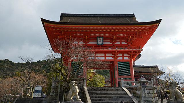 清水寺 仁王門(京都)