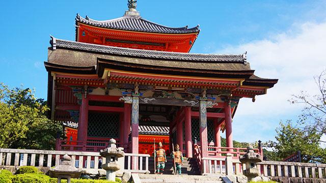 清水寺 西門(京都)