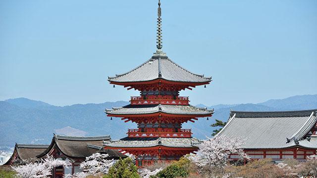 清水寺 三重塔(京都)