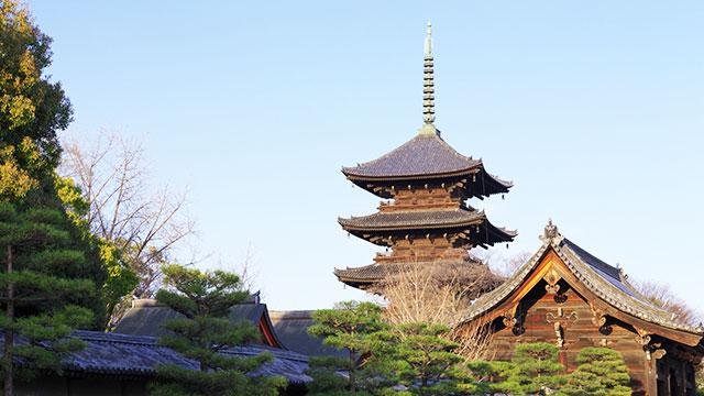 東寺 五重塔(京都)