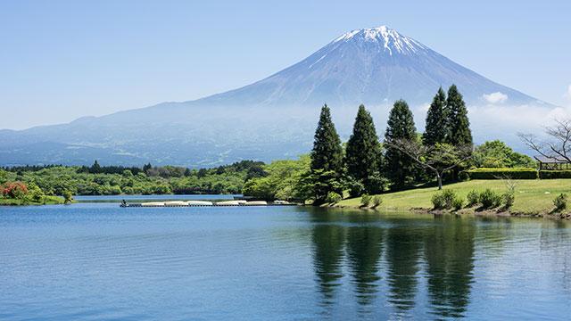 田貫湖(富士宮市・朝霧公園)
