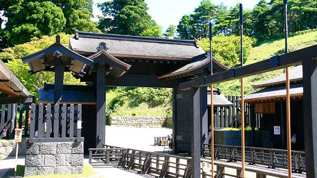 江戸口御門(箱根関所)