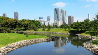東京 浜離宮恩賜庭園心癒される都心のオアシス