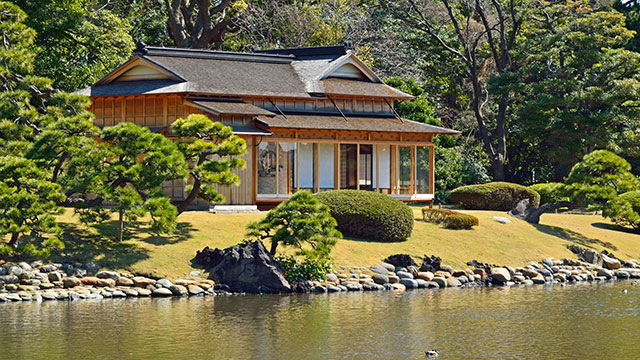 松の御茶屋(浜離宮恩賜庭園)
