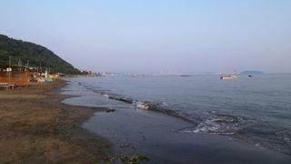 横須賀 走水海岸遠浅で1年中遊べる穴場スポット