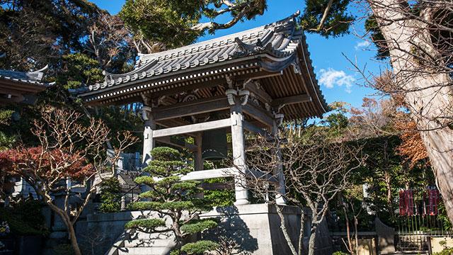 鐘楼(鎌倉長谷寺)