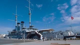 横須賀 記念艦三笠日露戦争の生き証人! 貴重な軍艦見学