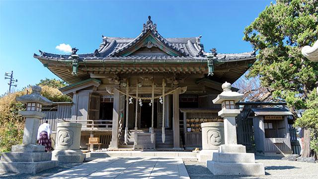 本殿(森戸神社)