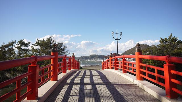 みそぎ橋(森戸神社)