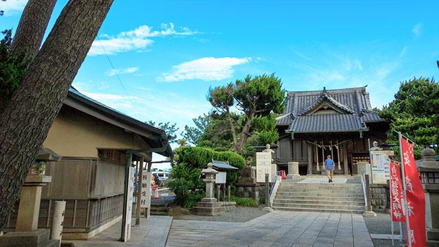 森戸神社(葉山)