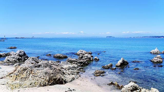 森戸海岸(葉山)