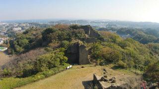 横須賀 鷹取山公園切り立った奇岩が目印の三浦半島の景勝地