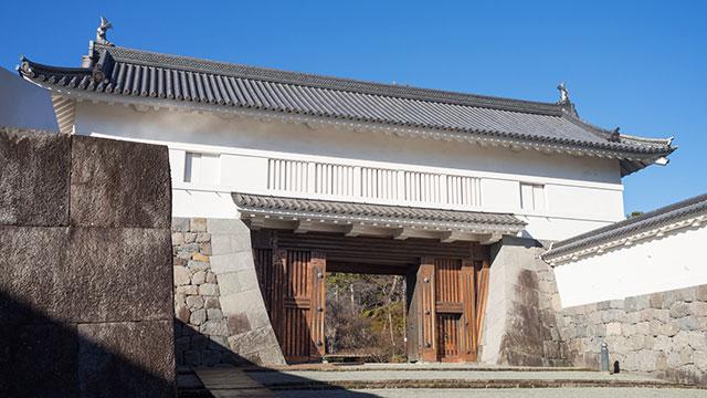 銅門(小田原城)