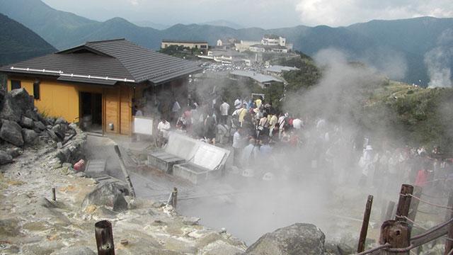 玉子茶屋(大涌谷)