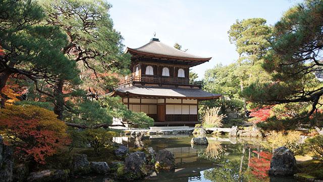 銀閣寺(哲学の道)
