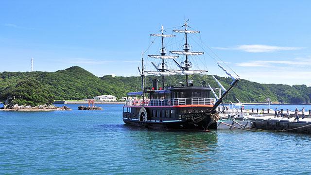 黒船サスケハナ号(下田・南伊豆)