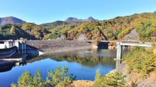 荒川ダム(能泉湖)水害を防ぐための美しい人工湖