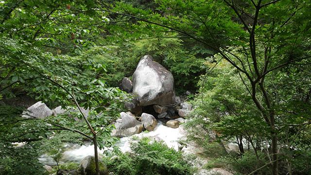 熊石(昇仙峡)