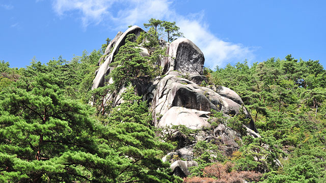 大佛岩(昇仙峡)