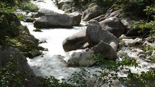 オットセイ石(昇仙峡)