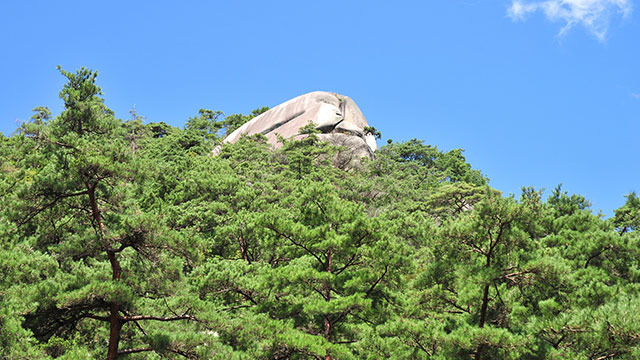 猿岩(昇仙峡)