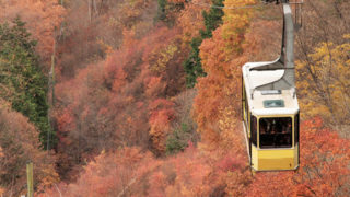 昇仙峡ロープウェイ滝と山頂とを結ぶロープウェイ