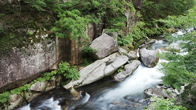 トーフ石(昇仙峡)