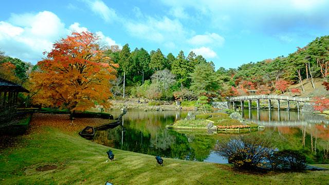 修善寺虹の郷日本庭園(修善寺)
