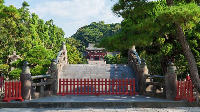 太鼓橋(鶴岡八幡宮)