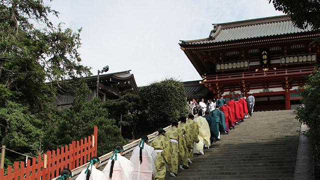 例大祭(鶴岡八幡宮)