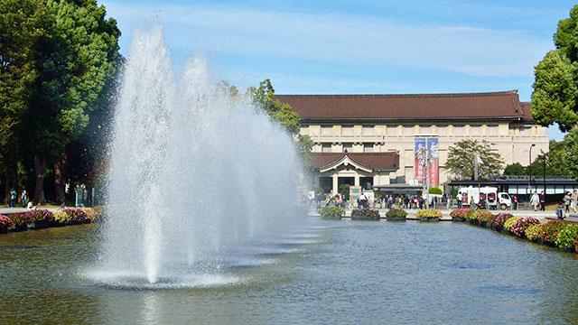 東京国立博物館(上野公園)