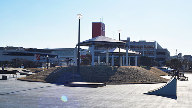 スケートボードエリア(うみかぜ公園)