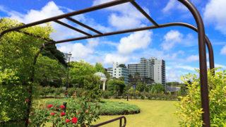 横須賀 ヴェルニー公園史跡とバラの、駅チカフランス式庭園