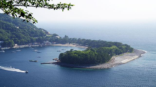 御浜岬(西伊豆)