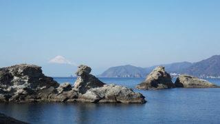 雲見海岸海に浮かぶ富士山が望めるダイビングの名所