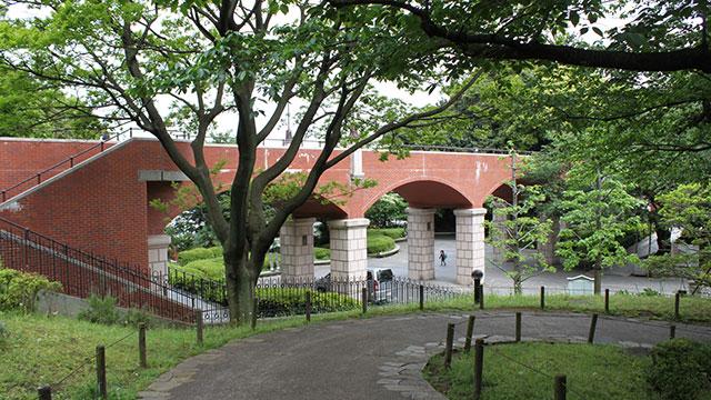 霧笛橋(港の見える丘公園)