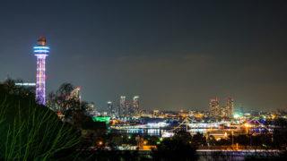 港の見える丘公園 バラの庭園も見事な人気の夜景スポット