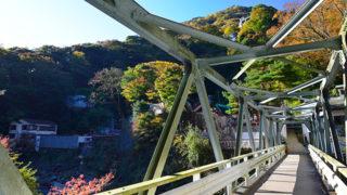 堂ヶ島(早川)渓谷遊歩道手つかずの自然を満喫できる箱根の秘境