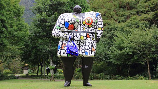野外彫刻(箱根彫刻の森美術館)