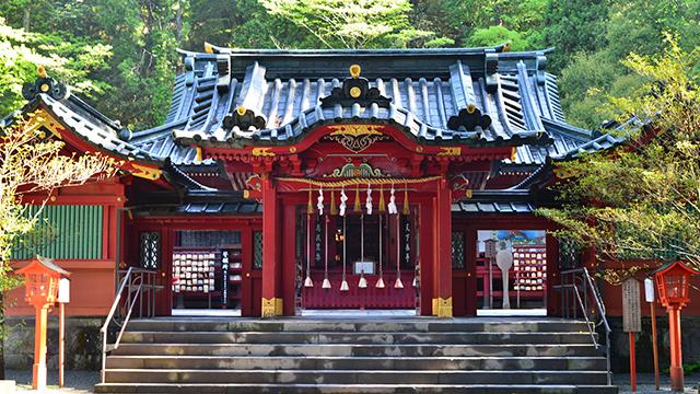 本殿(箱根神社)