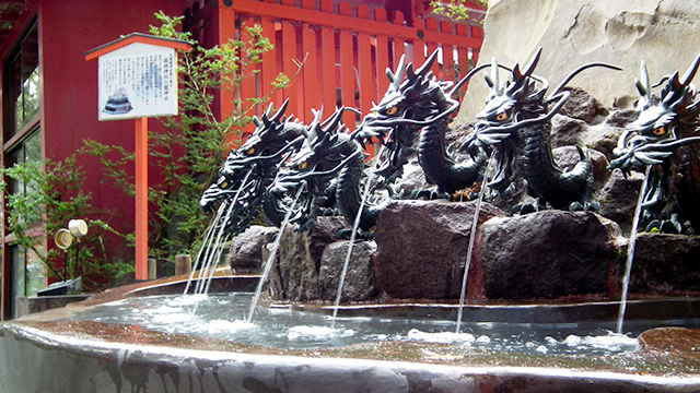 龍神水(箱根神社)