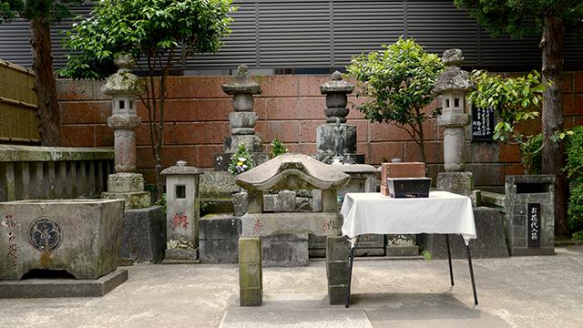 唐人お吉の墓(宝福寺)