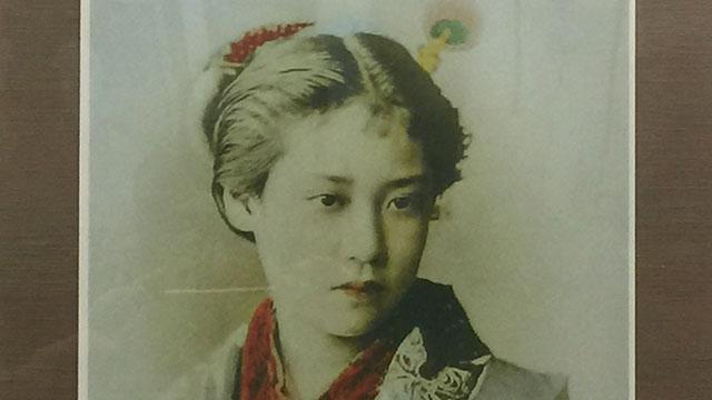 唐人お吉の肖像画(宝福寺)