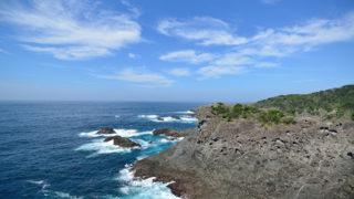 石廊崎・石廊崎灯台伊豆最南端の岬に立つ美しい灯台