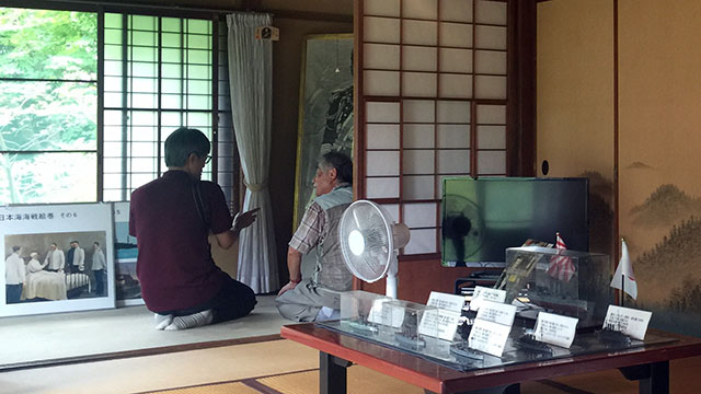 ボランティアガイド(伊東東郷記念館)