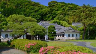 岩科学校和洋折衷の美しい建物は伊豆最古の小学校