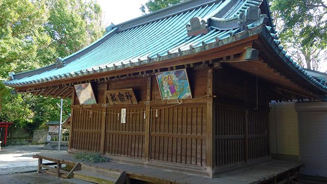 神楽殿(海南神社)