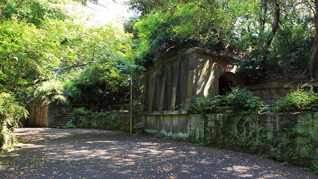 北門第1砲台跡(観音崎公園)